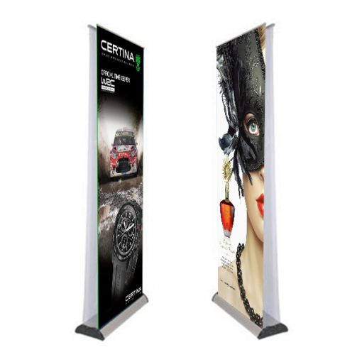 Double Roll Up Banner